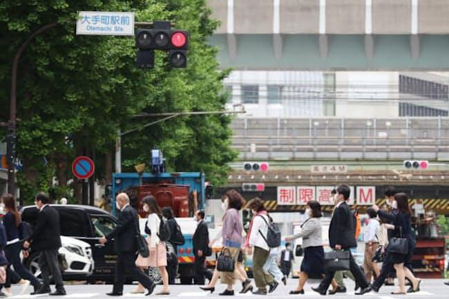 東京・大手町の風景