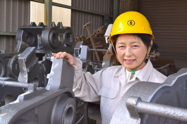手塚加津子・昭和電気鋳鋼社長