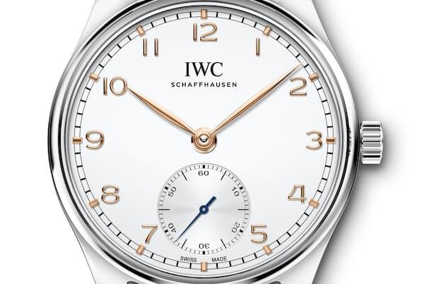 IWCの「ポルトギーゼ・オートマティック 40」。SSケースは誠実さを表すビジネスパーソン必須モデルだ