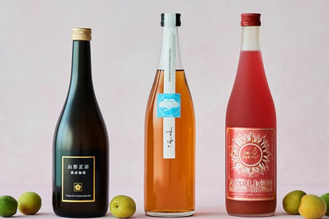 酒蔵が醸す梅酒は、日本酒同様にそれぞれの蔵の個性が表現されているので、ぜひお気に入りを見つけて(NikkeiLUXEより)