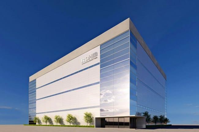 ロームは21年に福岡県にSiC(炭化ケイ素)半導体専用の工場を新設する。写真はイメージ