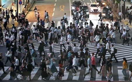 「東京アラート」解除翌日である6月12日の東京・渋谷