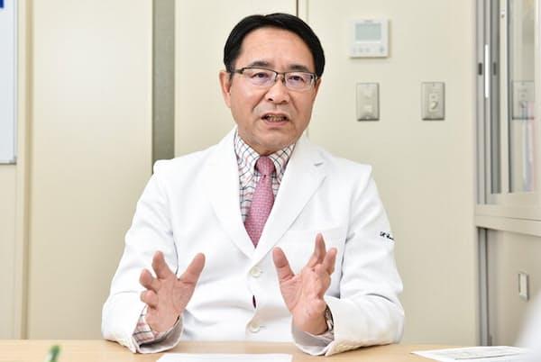 認知症予防について語る認知症専門医の遠藤英俊さん