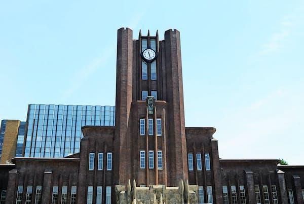 東京大学への進学校の顔ぶれも時代によって変化する(東京大学の安田講堂)