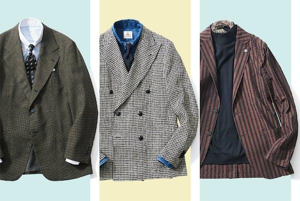 素材や仕立ての進化が続くジャケット。組み合わせるシャツ次第で「表情」は大きく変わる