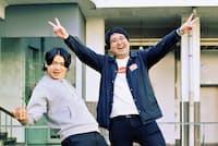 マヂカルラブリー 左/野田クリスタル(のだ・くりすたる)、右/村上(むらかみ)。吉本興業所属。