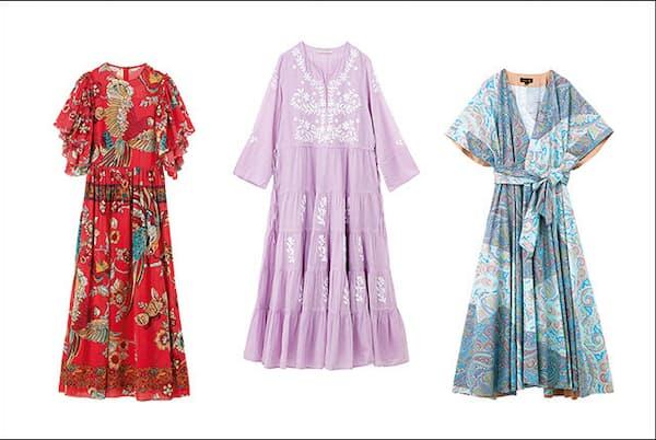 フェミニンな雰囲気たっぷりのサマードレスで、夏を満喫して。(NikkeiLUXEより)