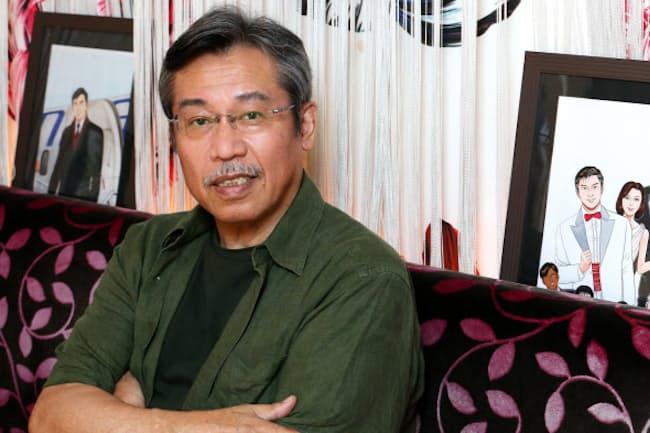 「80歳くらいまでは描けそう」と語る漫画家の弘兼憲史氏