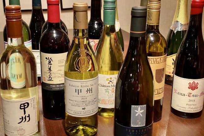 日本ワイナリーアワード2020で5つ星をとったワイナリーのワイン