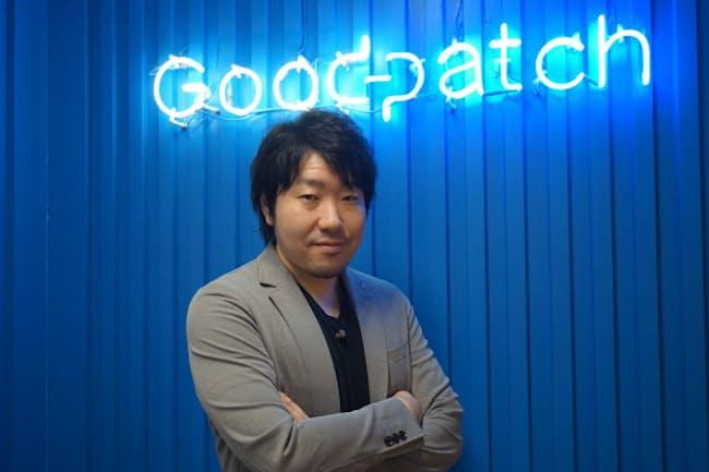 土屋尚史氏は社名にスタートアップの「patch(継ぎ当て)」になるという思いを込めた