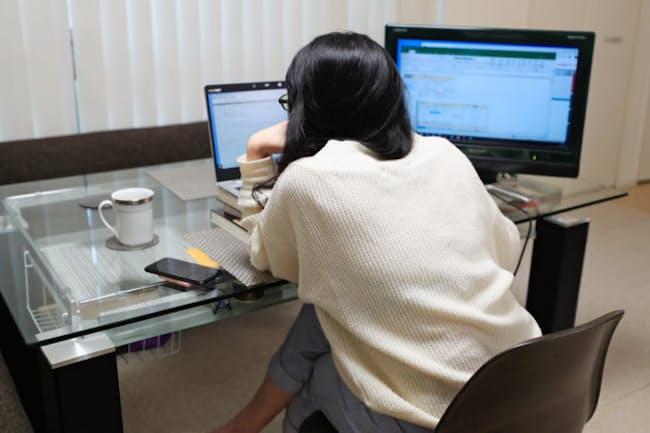 経理業務のリモートシステム化が普及するか。写真はイメージ