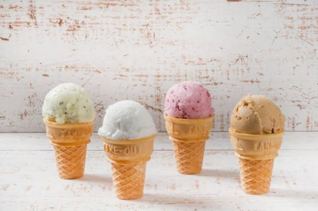 「アイスクリーム」、あるいはその略称の「アイス」といっても、法令で細かく分けられている=PIXTA