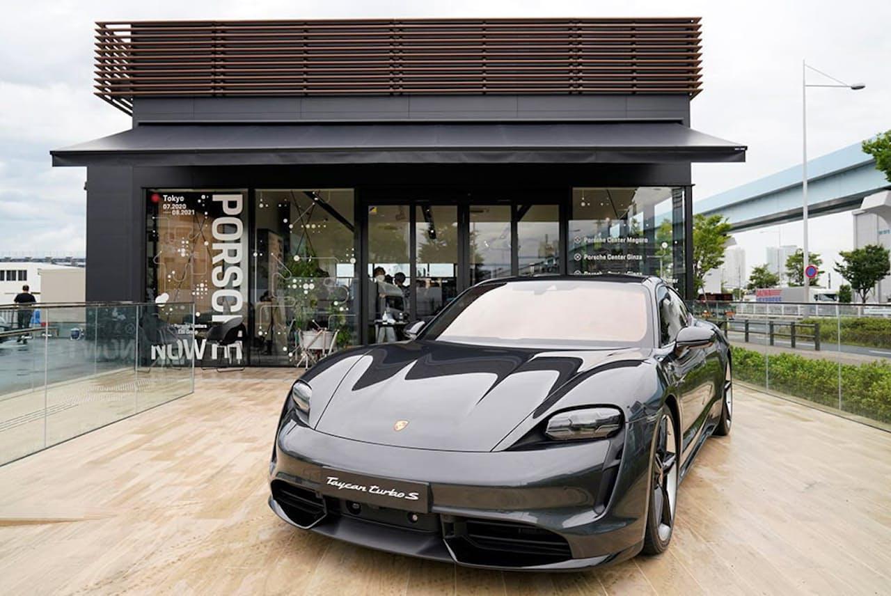 ポルシェジャパンとポルシェ正規販売店を子会社にもつイー・ビー・アイ・マーケティングが、東武有明フィールドにオープンした期間限定コンセプトストア「Porsche NOW Tokyo」