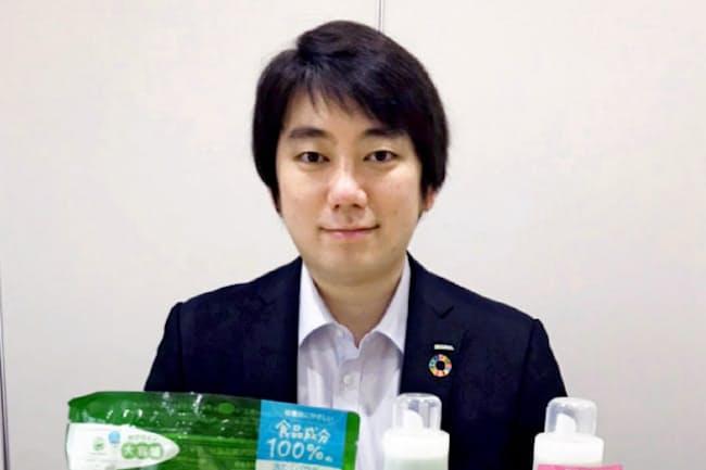 東京サラヤの小椋国裕さん