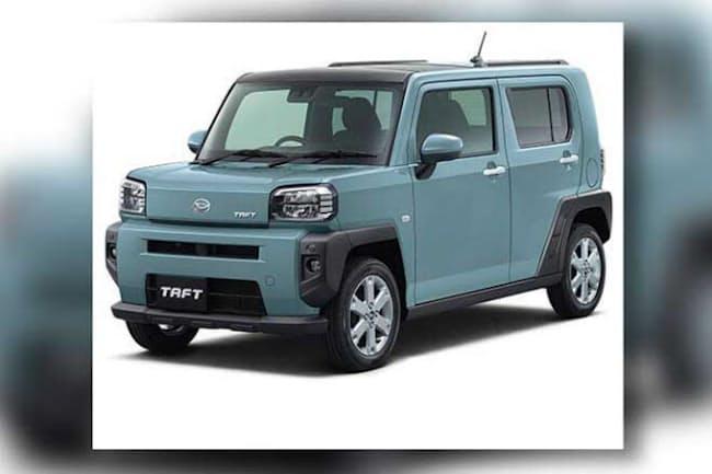 ダイハツ「タフト」は、2020年6月発売の都市型多目的スポーツ車(SUV)。X(税込み135万3000円~)、G(税込み148万5000円~)、Gターボ(税込み160万6000円~)の3グレードがある(画像提供/ダイハツ工業)
