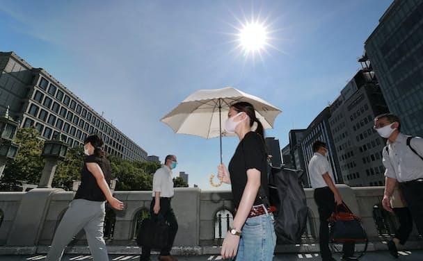 今年の夏は記録的(8月、大阪市)