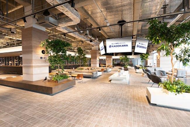 KADOKAWAが作った新オフィスに、アフターコロナの働き方へのヒントがある