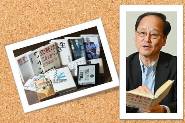 菊地哲氏と座右の書・愛読書