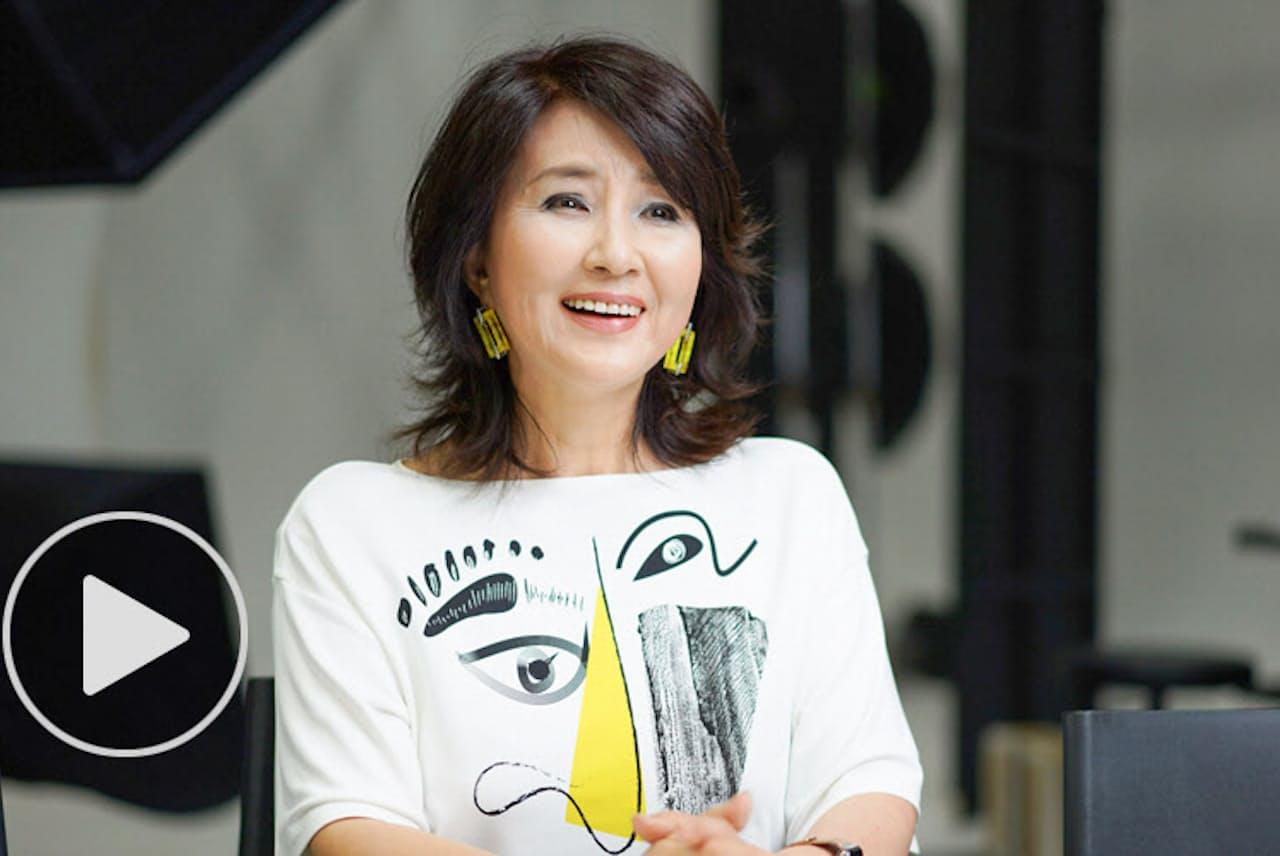 詩吟やヨガに挑戦し始めて「面白みが分かってきた」と語る女優の秋吉久美子さん