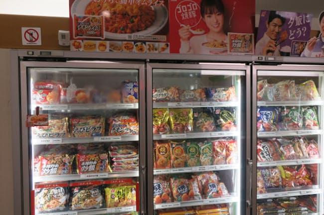 冷凍食品分野ではチャーハンと唐揚げに根強い人気