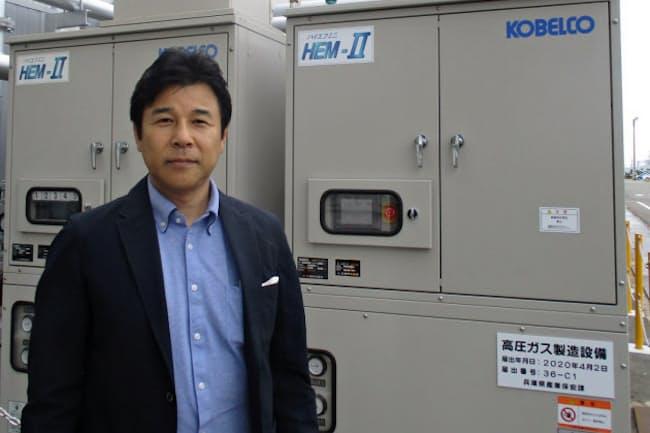 神戸製鋼所の辻本智さん