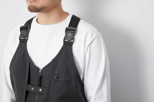 難燃素材に革命を起こした、アラミド100%素材の「TAKIBI Vest」
