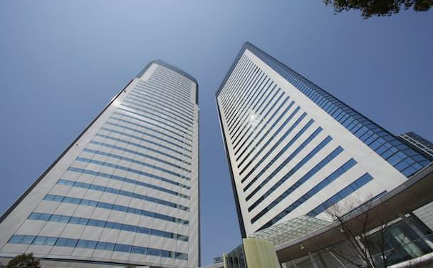 NTTデータ本社(東京・豊洲)