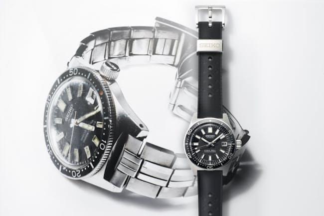 映画で寅さんが身につけた時計(背景写真)がよみがえった