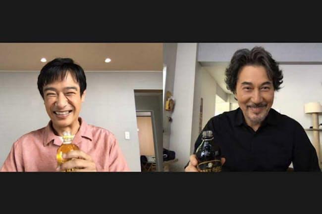 堺雅人と役所広司が出演するクラフトボスの新しいCMはリモートで撮影された