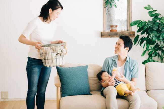夫婦間の家事分担については感覚のズレが大きい(写真はイメージ=PIXTA)