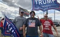 米大統領選の激戦地、オハイオ州のトランプ大統領支持者