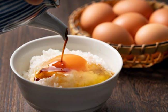 日本人のソウルフード、TKG・卵かけご飯=PIXTA