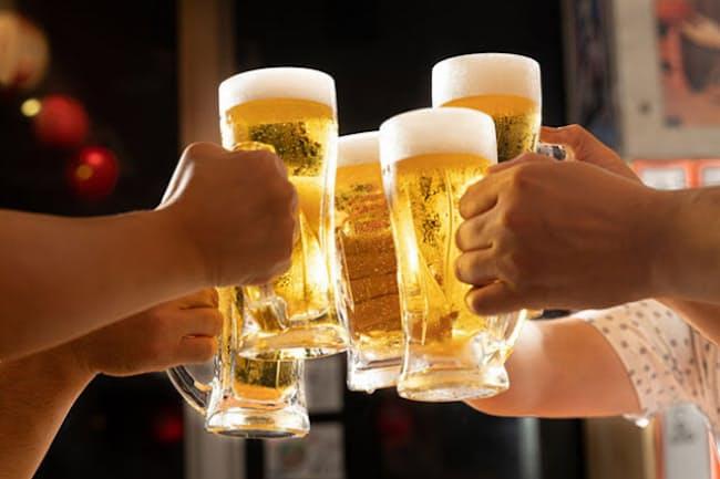酒好きが気になる肝機能の数値といえば「γ-GTP」だろう。(c)KAZUMA SEKI-123RF