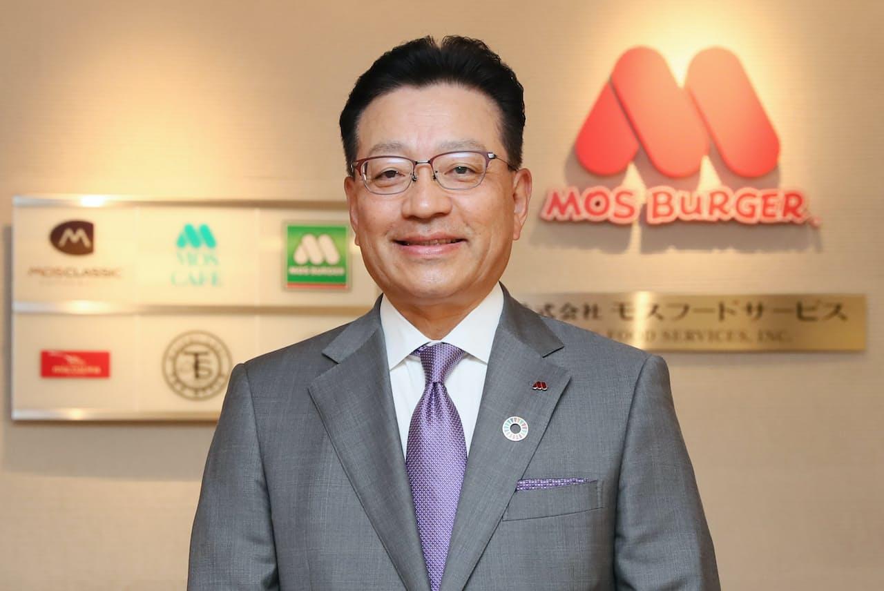 モスフードサービス社長 中村栄輔氏