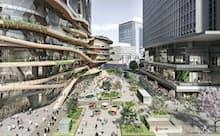 環境配慮型の街づくりを意識した東京駅前常盤橋プロジェクト