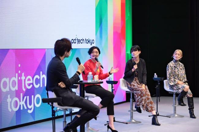 10月に開催した「アドテック東京」は登壇者の女性比率を3割以上にした(10月29日、東京・丸の内)