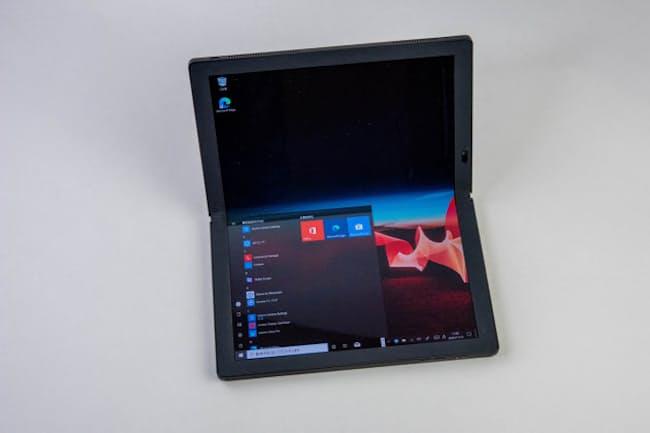 ディスプレー折り畳み式のパソコン「ThinkPad X1 Fold」が登場した