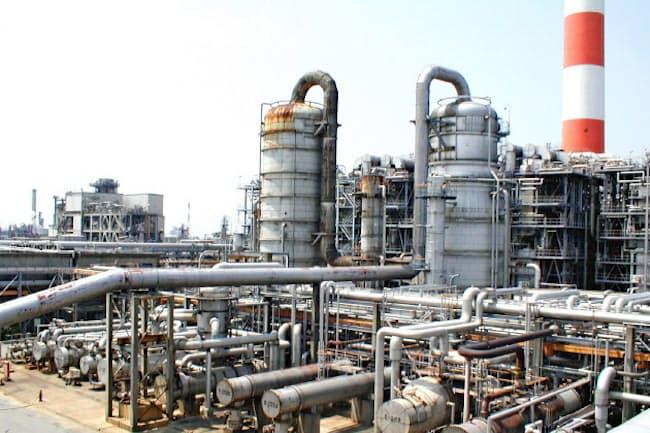 三井化学のプラント工場