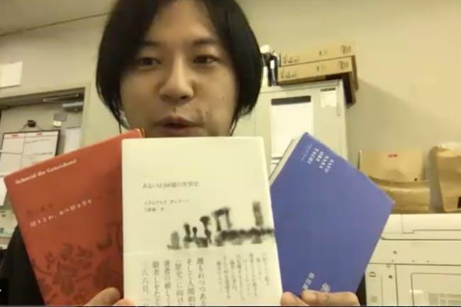 法政大学生協多摩店の鈴木祥介さん