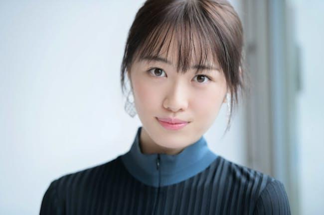 公開中の映画『大コメ騒動』に出演している女優の工藤遥さん