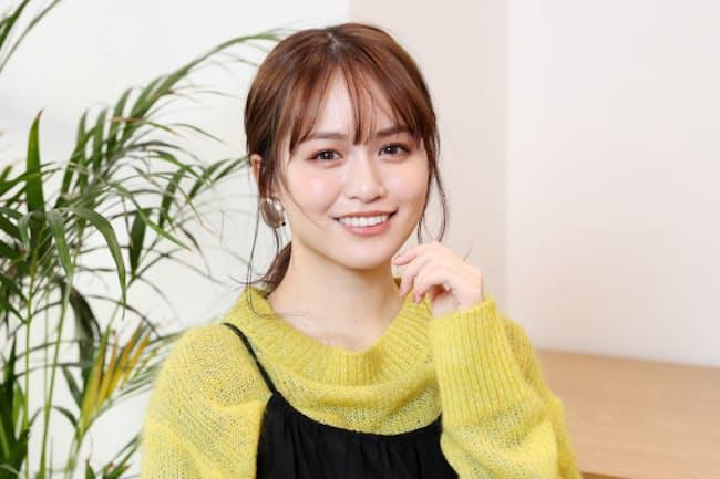 「モテクリエイター」の肩書で活躍する「ゆうこす」こと菅本裕子さん(2020年12月、東京都内)