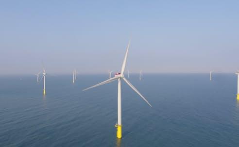 台湾の洋上風力発電事業に参画している