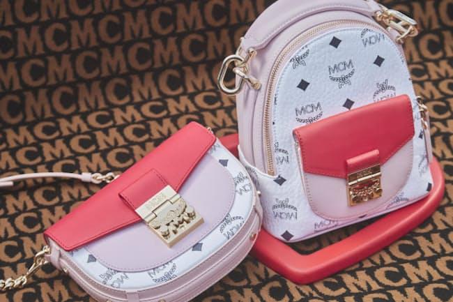 MCMのバレンタインコレクションは配色とハートモチーフがポイント