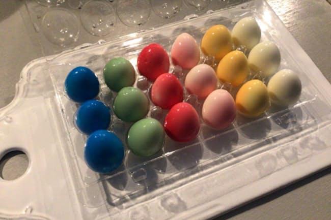 イースターの卵をウズラで作ってみた!