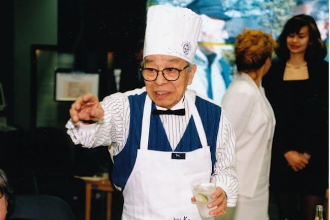 メンズファッションの「教祖」、石津謙介氏は料理自慢、食通でも知られた(石津事務所提供)