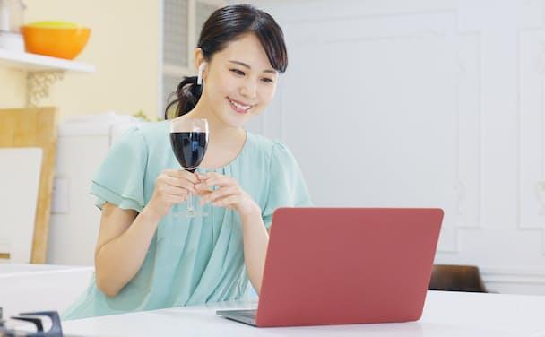 「ノリ」をどう維持するかがオンライン飲み会の楽しさを決める。写真はイメージ