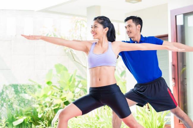 筋肉合成のスイッチを入れるためには、たんぱく質をしっかりとり、運動することが必要だ。写真はイメージ (c) kzenon-123RF