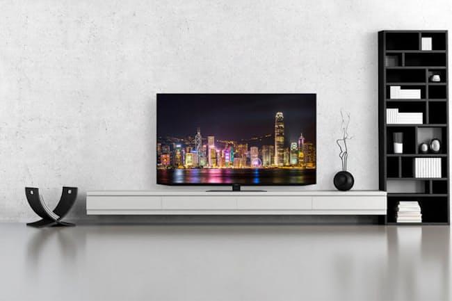 シャープが2020年に発売した初の4K有機ELテレビ「CQ1ライン」