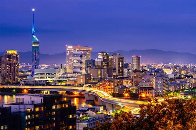 栄えある地方自治体の1位に輝いたのは福岡市だった(画像/Shutterstock)