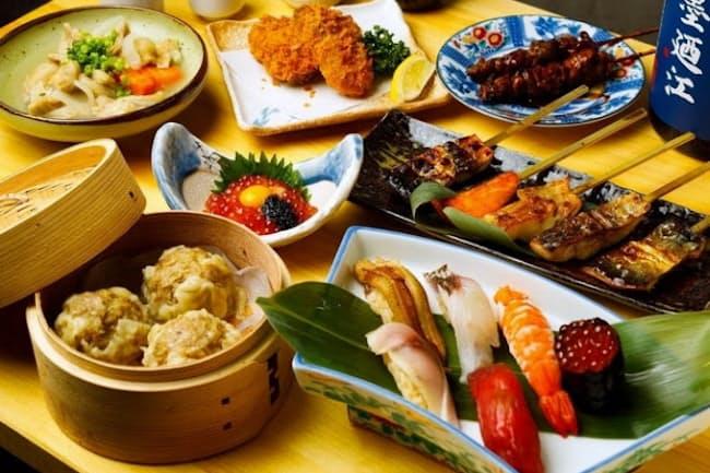 仙台店では東京グルメのシュウマイと県産鮮魚が楽しめる